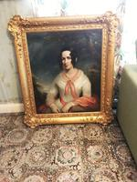 Sir Thomas Lawrence Studio Oil Portrait Painting of A Lady (8 of 13)