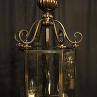 French Hexagonal Triple Light Hall Lantern (10 of 10)
