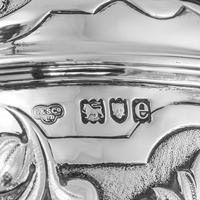 Antique Solid Sterling Silver Large Tankard with Royal Marines Officer Interest - Goldsmiths & Silversmiths Co 1900 (26 of 28)