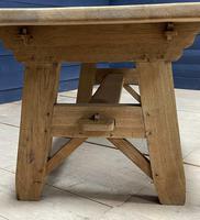 Scandinavian Style Bleached Oak Farmhouse Table (6 of 14)