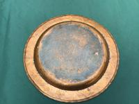 Hugh Wallis Arts & Crafts Copper Circular Tray (3 of 3)
