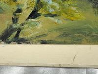 20th Century Oil Painting Wales Menai Bridge Church Straits Snowdonia Mountains (14 of 27)