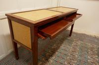 Art Deco Style Walnut & Maple Reception Desk (5 of 7)