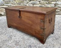 Large Antique Anglo Indian Trunk (6 of 26)