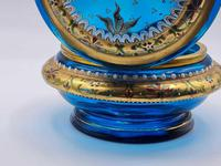 Antique 19th Century Moser Glass Enamel Box (3 of 11)