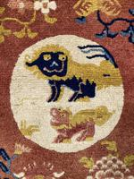 Antique Chinese Ningxia Rug (8 of 9)