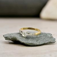 The Antique Old European Cut Diamond Solitaire Ring (3 of 4)