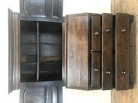 Antique 18th Century Welsh Oak Two Stage Bureau Cupboard (7 of 15)