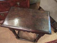 George I Period Antique Oak Joint Stool (7 of 7)