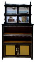 Pair of Aesthetic Movement Cabinets c.1880 (4 of 10)