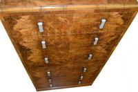 Large Art Deco Six Drawer Chest of Drawers (11 of 12)