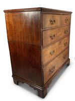 English George III Oak Chest of Drawers (7 of 11)