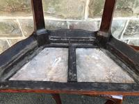 Pair of Oriental Chinese Marble Top Console Tables (10 of 12)