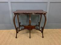 Rococo Style Mahogany Occasional Table (8 of 10)