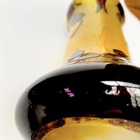 Le verre français acid etched glass vase (6 of 6)