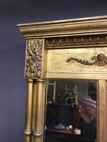 19th Century Gilt Overmantel Mirror (4 of 10)