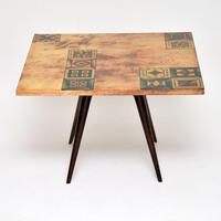 1960's Italian Lacquered Parchment Coffee Table by Aldo Tura (7 of 11)