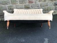 Antique English Upholstered Sofa (8 of 8)