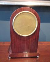 Antique Sheraton Inlaid 8 Day Mantel Clock (5 of 7)