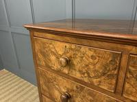 Victorian Burr Walnut Chest of Drawers (13 of 13)
