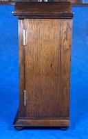 Victorian Oak Miniature Display Cabinet (3 of 11)