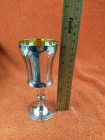 Vintage Sterling Silver Hallmarked Wine Cup with Gold Wash 1970 Poston Products Ltd Birmingham (7 of 8)