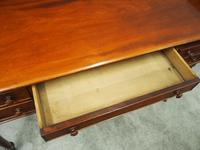William IV Mahogany Side Table / Desk (8 of 8)