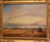Landscape Oil Painting by David Cox Snr. (1783-1859) (6 of 9)