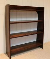Solid Oak Graduated Bookshelves (7 of 10)