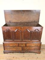 18th Century Welsh Oak Two Part Chest (3 of 13)