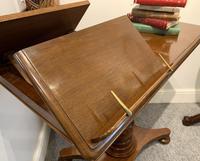 Victorian Mahogany Adjustable Reading Table by Ward (4 of 16)