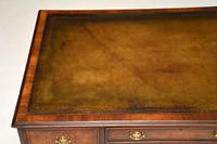 Antique Burr Walnut  Leather Top Desk (12 of 13)