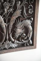 Carved Wood Ornamental Plaque (8 of 11)