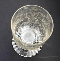 Exceptional, Fine & Rare Regency Oddfellows / Masonic Glass Rummer c.1814 (7 of 11)
