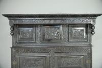 17th Century Oak Press Cupboard (2 of 8)