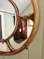 Fine Quality 19th Century Oval Gilt Marginal Mirror (3 of 6)