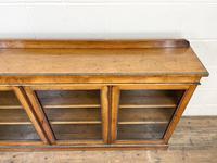 19th Century Glazed Walnut Bookcase (4 of 14)
