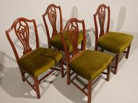 A Set of 4 George III Period Hepplewhite Mahogany Chairs (3 of 3)