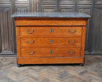 Figured French Commode/ Chest of Drawers (3 of 7)