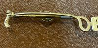 15ct Gold Victorian Riding Crop & Fox Head Stock Pin (4 of 4)