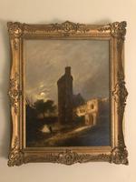 John Berney Crome Oil Painting
