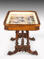 Hardwood Danish Basin Table from the Third Quarter of the 19th Century (3 of 7)