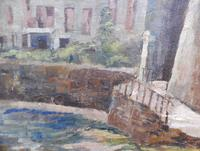 Oil on Canvas Cornish Seascape Listed Artist Dora Johns 1966 (8 of 10)