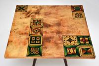 1960's Italian Lacquered Parchment Coffee Table by Aldo Tura (2 of 11)