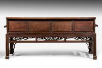 Mid 19th Century Chinese Hardwood Sofa (5 of 9)