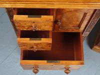 Antique Pair of Satinwood Bedside Cabinets by M. Woodburn (11 of 13)