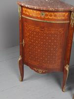 Matched Pair of French Inlaid Corner Cabinets (12 of 18)