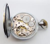 Swiss 1930s Stem Winding Pocket Watch (6 of 6)