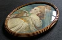 Mrs Mary Desbitt with Dove, After Sir Joshua Reynolds - Portrait Watercolour (7 of 9)