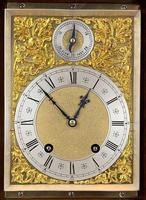 Fine quality burr walnut bracket clock by Lenzkirch of Germany, with a quarter chiming movement c.1903 (4 of 14)